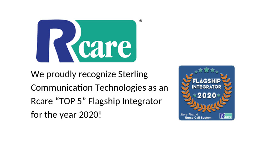 Sterling Communication was recently recognized as an R Care top 5 integrator